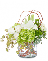 Chic & Styled Arrangement