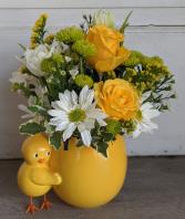 Chick-a-Dee Fresh Arrangement