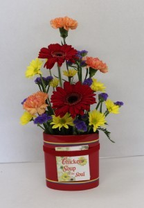 Chicken Soup for the Soul Fresh flower arrangement