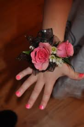Child Rose Wrist Corsage