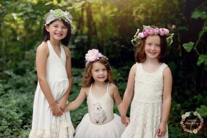 Children Floral Crowns  Floral Crowns