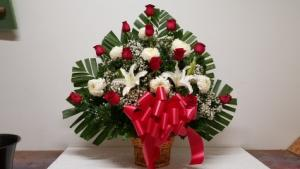 chinamam basket Flower besket in Norwalk, CA | Ana's Flowers