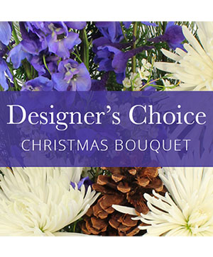 Christmas Bouquet Designer Choice  in Fort Fairfield, ME | One of a Kind Flowers
