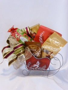 Christmas Chocolate Delight Gift Basket   Lindt  Lindor Chocolate Gift Baskets,   Gifts & Gift Baskets