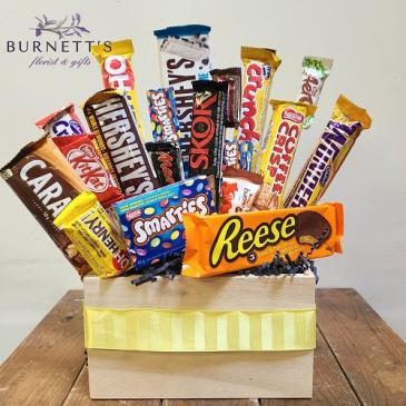 Chocoholic  Candy Boquet