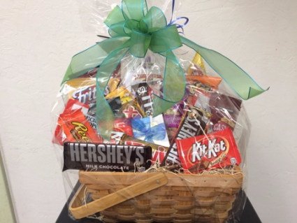 Chocolate and Chip Sweet and Savory Foods Basket