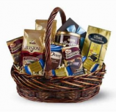 chocolate and coffee basket gift baskets