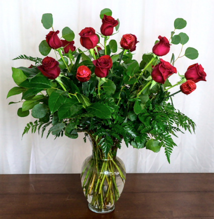 Chocolate and Red Roses Bouquet Valentine's Day