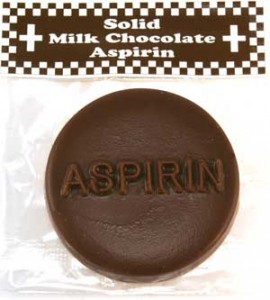 Chocolate Aspirin Get Well in Albany, NY | CENTRAL FLORIST
