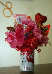 Chocolate Candy Soda Pop Bouquet Candy Bouquet