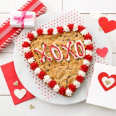 Chocolate Chip Heart Shape Cookie