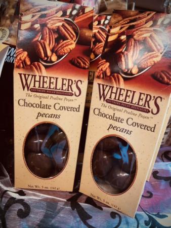 Chocolate Covered Pecans  Pecans