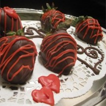 Chocolate Covered Starwberries Dozen Chocolate Covered Strawberries