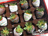 Chocolate Covered Strawberries (Box of 12) *available for Dubois County delivery only*
