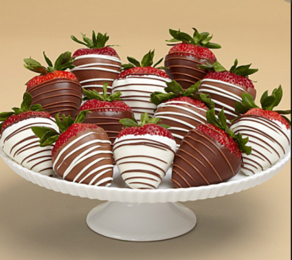 Chocolate Covered Strawberries Food Product