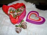 """Chocolate Covered Strawberries"" Fresh/Local"
