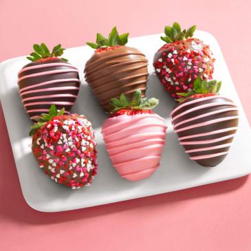 Chocolate Covered Strawberries Valentine