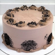 Chocolate Cream Cake Sweet Blossoms