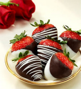 Chocolate Dipped Strawberries Chocolate
