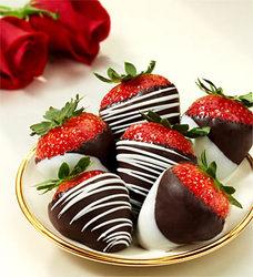 Chocolate Dipped Strawberries Chocolate