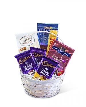 Chocolate Dreams Basket Gift Basket in Nevada, IA | Flower Bed