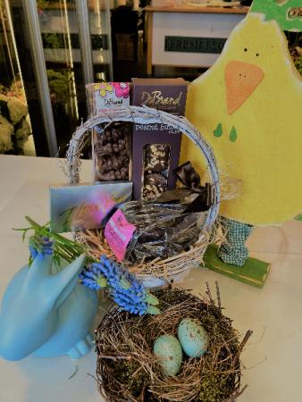 Chocolate Easter Basket Gift Basket