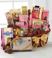 Chocolate Indulgance Basket Gift Basket