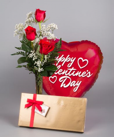 CHOCOLATE LOVE BOUQUET  valentine's day