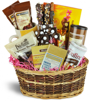 Chocolate Lover Gift Basket in Whitesboro, NY | KOWALSKI FLOWERS INC.