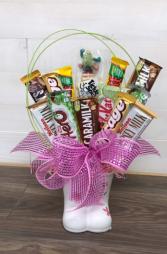 Mom's / Nan's sweet treats Chocolate lovers arrangement