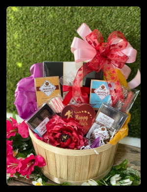 Chocolate Lovers' Basket  in Bryan, TX | NAN'S BLOSSOM SHOP