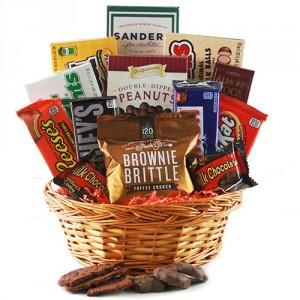 Chocolate Lovers Basket Gift Basket In Stafford Va Anita S