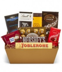 Delicious Chocolate Basket Gift Basket