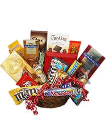 Chocolate Lovers' Basket Gift Basket
