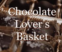 Chocolate Lover's Basket Milwaukee Made
