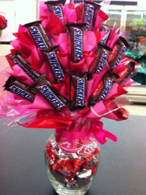 Chocolate Lovers Bouquet Chocolate Arrangment