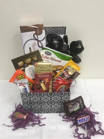 Chocolate Lovers Box  gourmet box gift