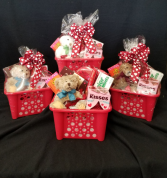 Chocolate Lovers Candy and Bear Basket