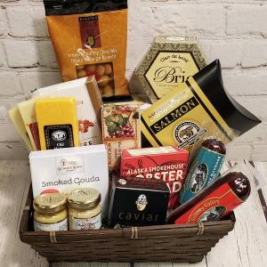 Gourmet Lover's Gift Basket in Charlotte, NC | FLOWERS PLUS