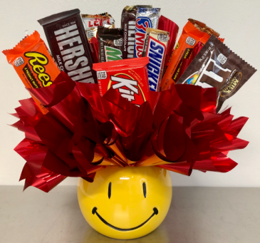 Chocolate on the Brain Candy Arrangement