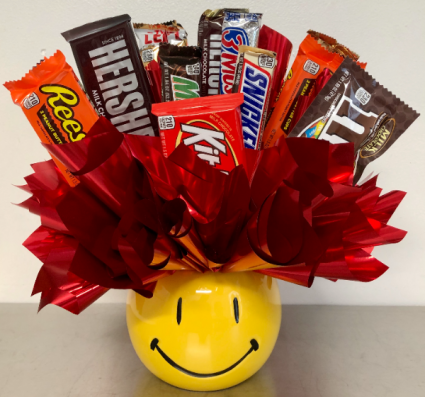 Chocolate on the Brain Candy Arrangement