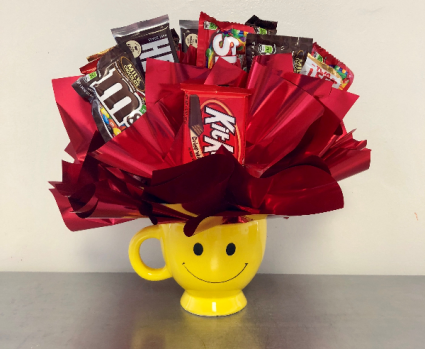 Chocolate On The Brain Edible Bouquet