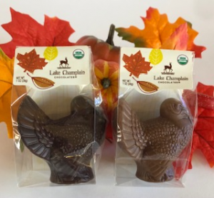 Chocolate Placesetting Turkeys add-on in Kensington, CT | BRIERLEY-JOHNSON THE FLORIST