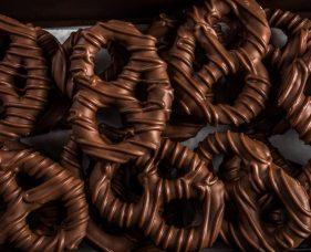 Chocolate Pretzels 1lb