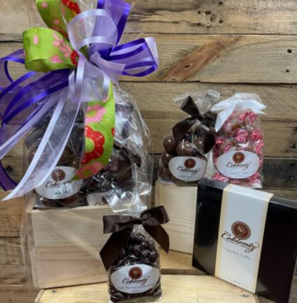 Chocolate splendid sweet  Wood box
