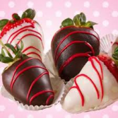 Chocolate strawberries  ON EXTRA TAB ONLY FEBUARY 12, 13TH & 14TH