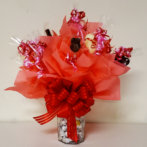 Chocolate Sucker Bouquet  in Bryson City, NC | Village Florist & Christian Book Store