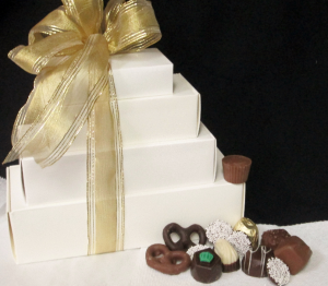 Chocolate Tower Candy in Lock Haven, PA   INSPIRATIONS FLORAL STUDIO