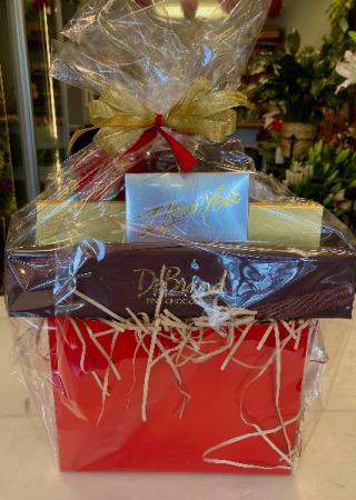 Chocolate Tower Gift Basket