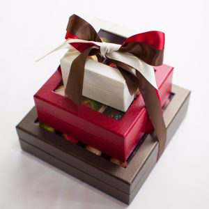 Chocolate Tower Jean Pierre Chocolates